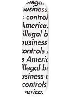 Supreme дека для скейтборда Illegal Business