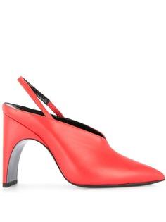 Pierre Hardy туфли-лодочки с открытой пяткой