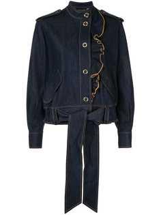 Karen Walker куртка Coriolis с оборками