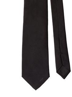 Prada галстук с вышитым логотипом