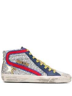 Golden Goose кроссовки с заплаткой в форме звезды