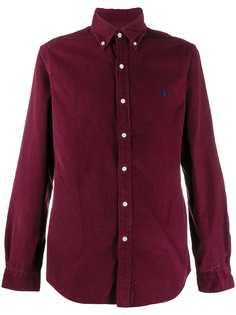 Ralph Lauren вельветовая рубашка с длинными рукавами
