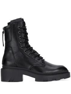 Ash ботинки в стиле милитари