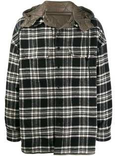 Juun.J куртка-рубашка с капюшоном