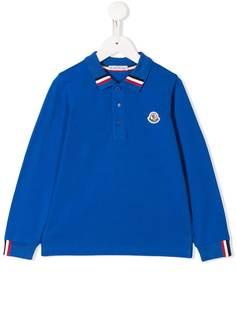 Moncler Kids рубашка-поло с логотипом