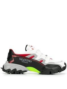Valentino Garavani кроссовки на массивной подошве