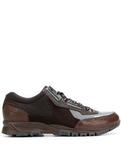 Lanvin кроссовки с сетчатыми панелями