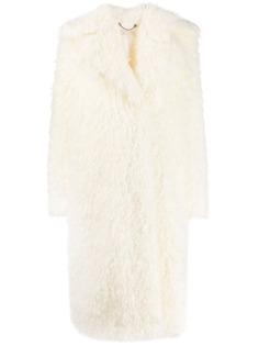 Michael Michael Kors пальто Faux Mongolian