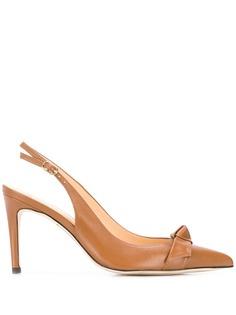 Alexandre Birman pointed toe slingback pumps