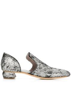 Officine Creative слипперы с заостренным носком Sauvanne
