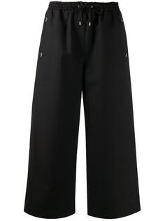 Kenzo укороченные брюки с кулиской