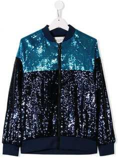 Alberta Ferretti Kids куртка с пайетками