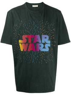 Etro футболка с надписью Star Wars