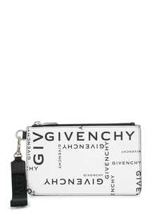 Givenchy all over logo print pouch