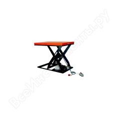 Подъемный электрический стол, нагрузка 2000кг, высота подъема 1000мм, размер платформы 1300х850мм prolift hiw 4,0 8206