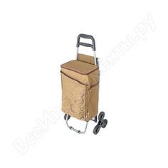 Сумка-холодильник на колесиках thermos коричневая, 28l 469922