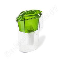 Фильтр-кувшин, зеленый прозрачный гейзер дельфин ж 62036зел