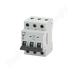 Автоматический выключатель эра no-900-48 ва47-29 3p 40а кривая c б0031780