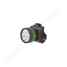 Налобный фонарь ultraflash 909led7 черный, 7led, 1 режим, 3xr6 11782