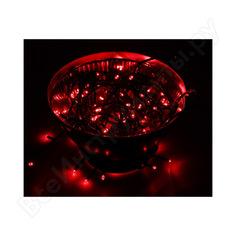 Гирлянда neon-night твинкл 10м, черный пвх, 100 led красные 303-132