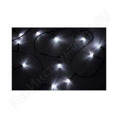 Гирлянда neon-night твинкл 15м, темно-зеленый пвх, 120 led белые 303-055