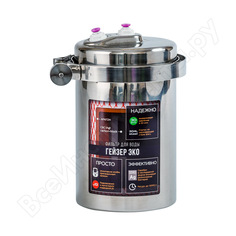 Стационарный фильтр гейзер эко без крана 18053_бк