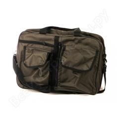 Сумка-рюкзак следопыт 35 л, хаки-рипстооп pf-bp-35