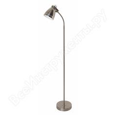 Напольный светильник camelion kd-428f с30 хром new york 40вт металл 13052