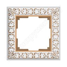 Рамка werkel wl07-frame-01 на 1 пост белое золото a036748
