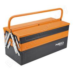 Металлический ящик для инструмента neo 450 мм 84-100