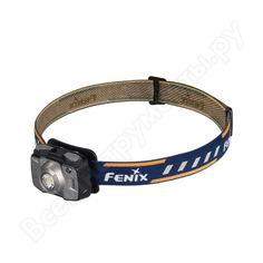 Светодиодный налобный фонарь fenix серый, 600 лм hl32rg