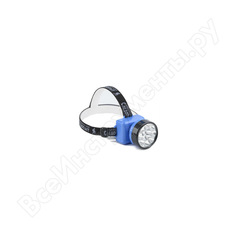 Налобный фонарь следопыт фара-12, 12l, аккумулятор 220в pf-pfl-hl20