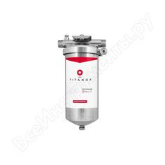 Механический фильтр для воды titanof спф 3000 3000 л/час, из нержавеющей стали, 10 микрон 014