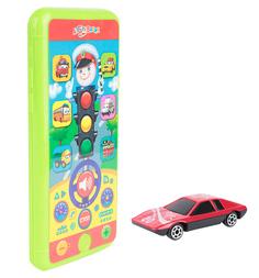 Интерактивная игрушка Азбукварик Смартфончик светофор