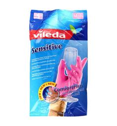 Перчатки Vileda для деликатных работ Sensitive, M