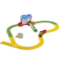 Игровой набор Thomas&Friends Томас и его друзья Перси в спасательном центре 13 см