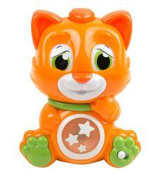 Интерактивная игрушка Clementoni Кошечка со сменой эмоций 14 см