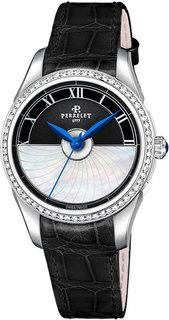 Швейцарские женские часы в коллекции Diamond Flower Женские часы Perrelet A2066/6