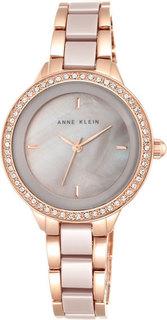 Женские часы в коллекции Crystal Женские часы Anne Klein 1418RGTP-ucenka