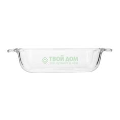 Форма для запекания Pyrex Classic Easy Grip Glass Прямоугольная 22х13 см (228B000/5040)
