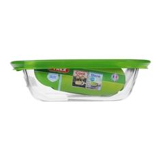 Форма для запекания Pyrex Cook&Store Glass Прямоугольная 0,35 л (214P000/5046)