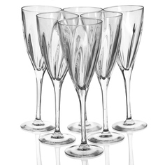 Фужеры Cristal darques Elixir H0811, 6 предметов 170 мл