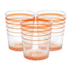 Набор стаканов низких 3х325 ice orange Cerve
