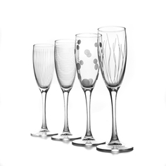 Набор бокалов для шампанского лаунж клаб 170мл Luminarc