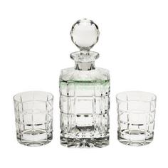 Набор для виски Crystalite Bohemia Штоф 800 мл + 6 стаканов 320 мл (990/99999/9/11182/649-709)