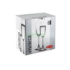 Набор фужеров для шампанского Pasabahce Enoteca 44688B, 6 штук 180 мл