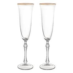 Набор фужеров для шампанского Crystalite bohemia парус/190мл/2шт