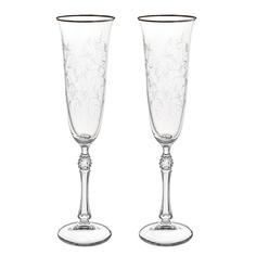 Набор фужеров для вина Crystalite bohemia дора/600мл/6шт