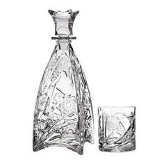 Набор для виски Crystal bohemia a.s. murinas Штоф 750 мл+6 стаканов 300 мл