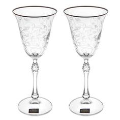 Набор фужеров для вина Crystalite bohemia парус/185мл/2шт